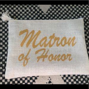 Matron of Honor clutch bag